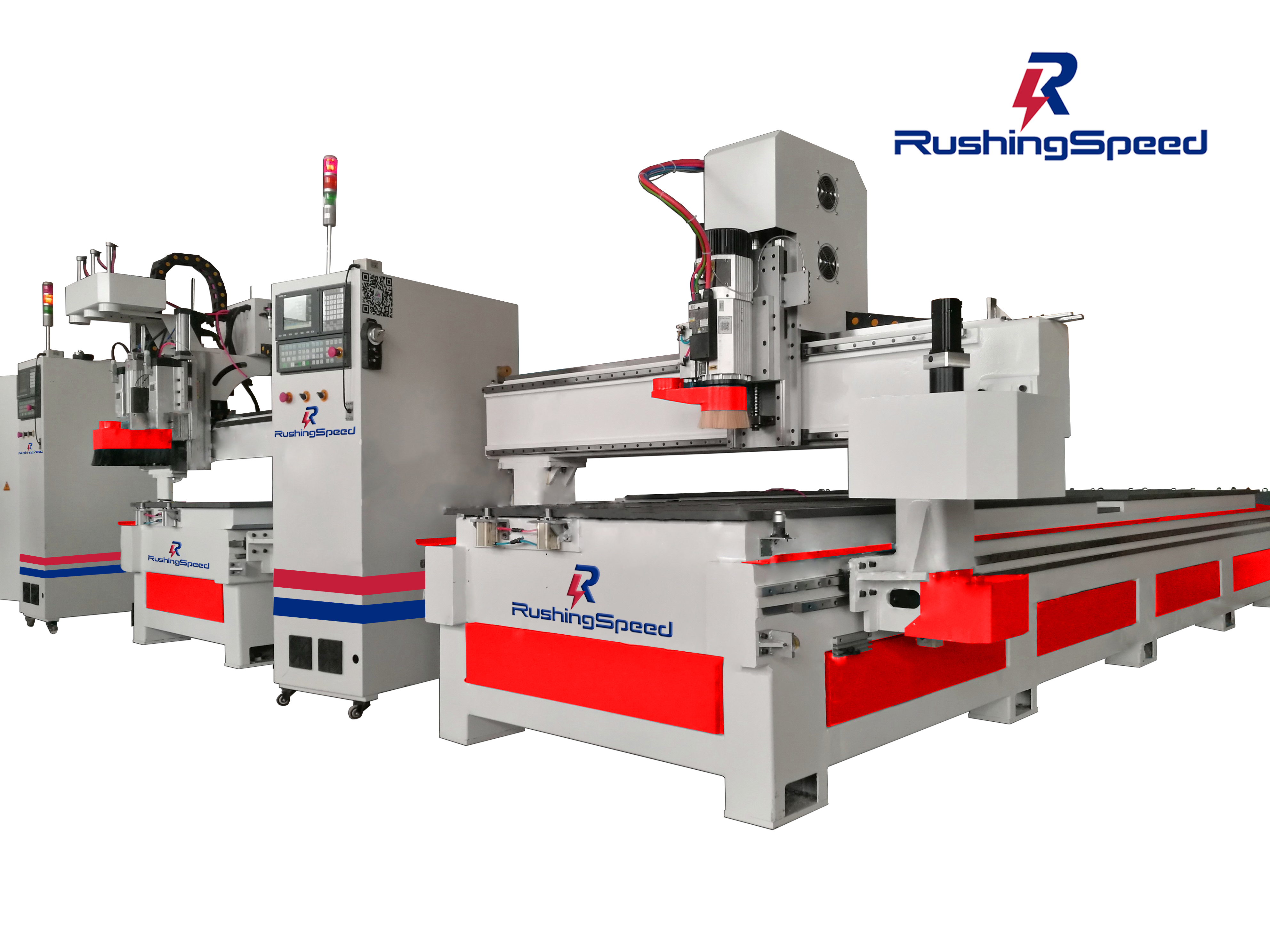 CNC Cutting Router Machine RSP-2500/D2A