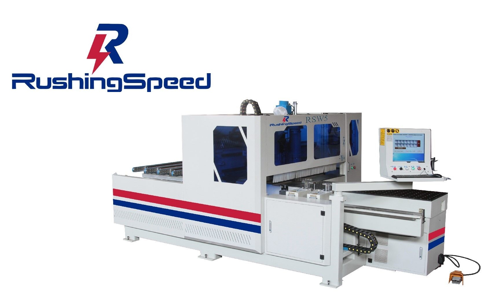 CNC FIVE-FACES Processing Center RS5D Series